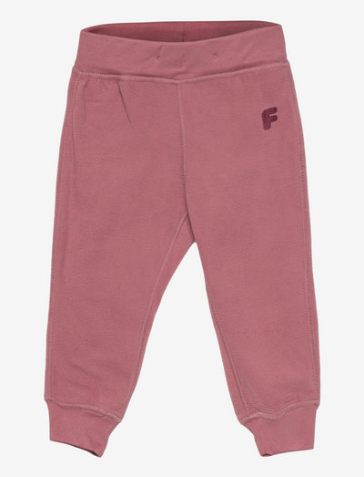 Fleece FIX trousers - sweatpants - pink