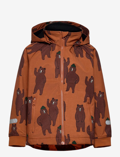 Jacket FIX Softshell - softshell-jackor - brown