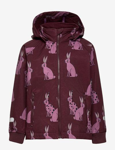 Jacket FIX Softshell - softshell-jackor - lilac