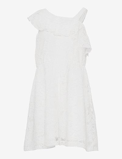 Dress Lola - kjoler & nederdele - white