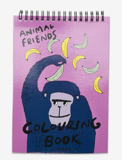 Book to color - pappersvaror - lilac