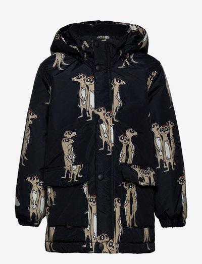 Jacket Playful - dunjackor & fodrade jackor - black