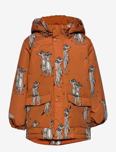 Jacket Playful - dunjackor & fodrade jackor - brown