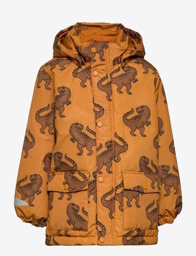 Jacket Playful - dunjackor & fodrade jackor - yellow