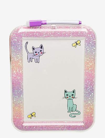 Drawing board pastel cats - pyssel - pink