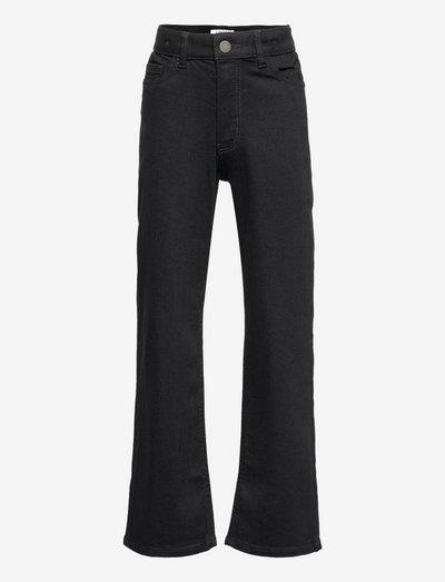 Trousers denim Vanja black wid - jeans - black