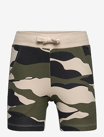 Shorts Jersey camo - shorts - green
