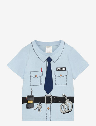 T shirt Police - kortärmade - blue
