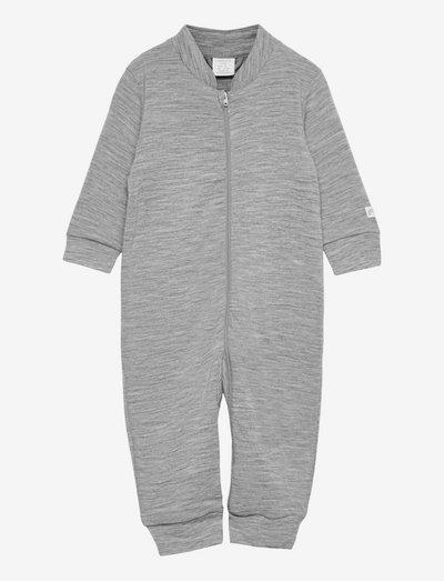 Onesie wool terry - grey