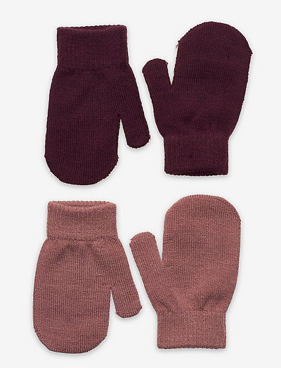 Mittens Magic recycle pes 2 pa - gloves - pink