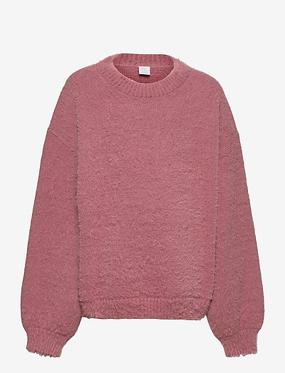 Sweater Nikki featheryarn - jumpers - pink
