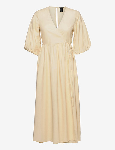 Dress Andromeda - maxi dresses - yellow
