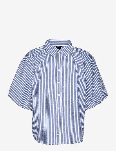 Blouse Rita - koszule z krótkim rękawem - blue