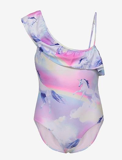 Swimsuit SG Unicorn one should - baddräkter - lilac