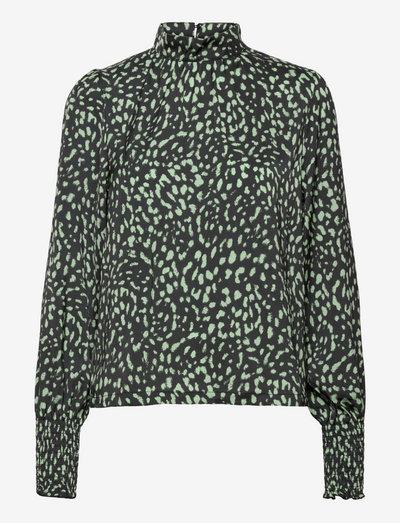 Blouse Alma - blouses met lange mouwen - black