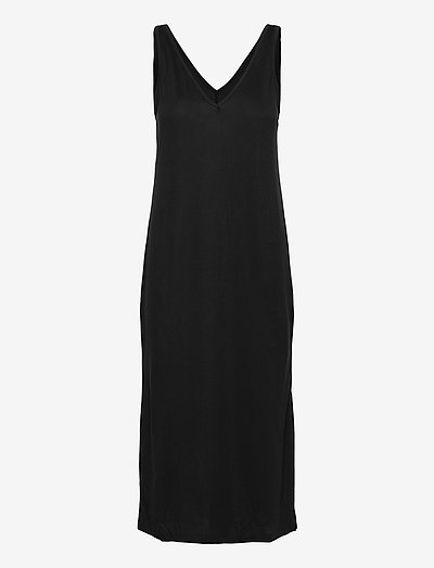 Dress Yael w slit - sukienki letnie - black