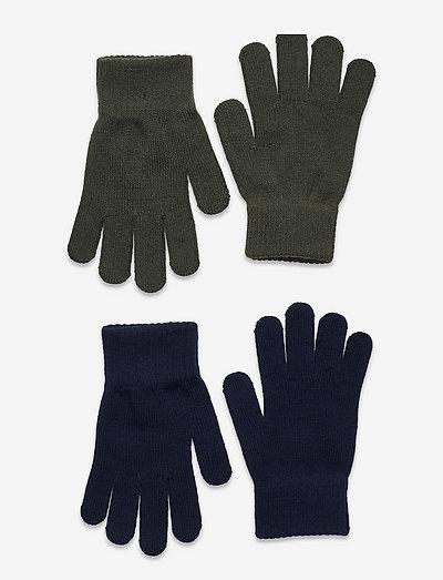 Gloves magic color 2 p - vantar - green