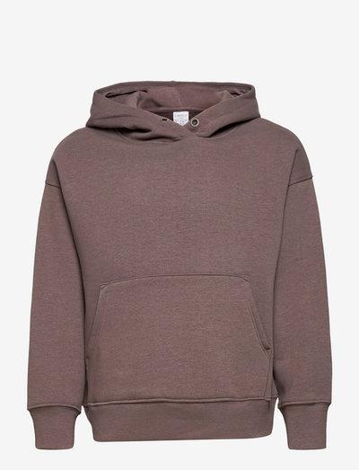 Hooded Sweatshirt Ocean - hoodies - brown