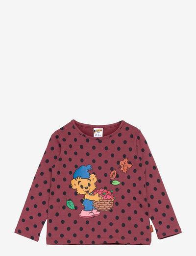 Top Bamse placement - långärmade t-shirts - pink