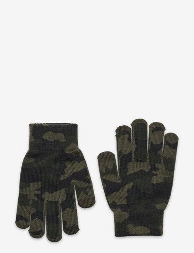 Gloves magic camo print - vantar - khaki