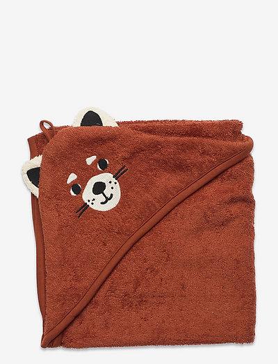 Towel terry Red Panda - badshorts - orange