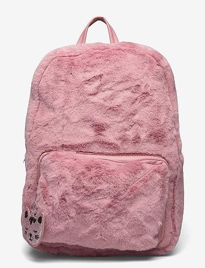 Backpack fur - ryggsäckar - pink