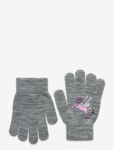 Gloves magic sweet unicorn - vantar - grey