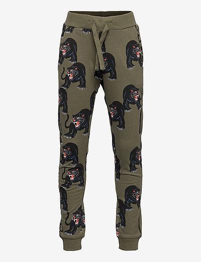 Trousers AOP Black Panther - sweatpants - green