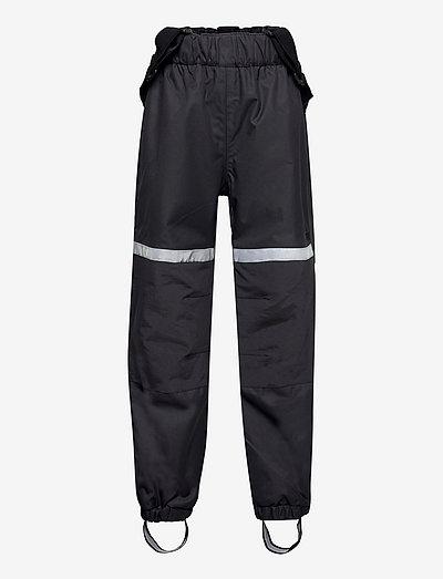 FIX taslon trousers w braces - nederdelar - black
