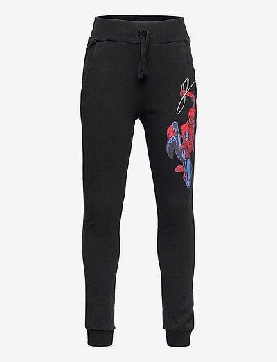 Trousers Spiderman - spodnie dresowe - black