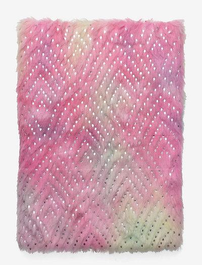 Notebook rainbow fur - pappersvaror - pink