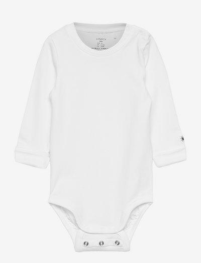Basic ls body - długie rękawy - white