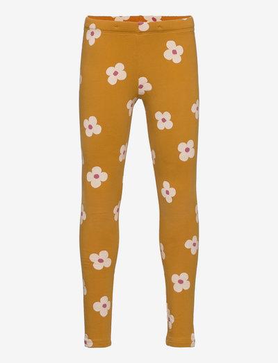 Leggings br inside AOP playful - leggings - yellow