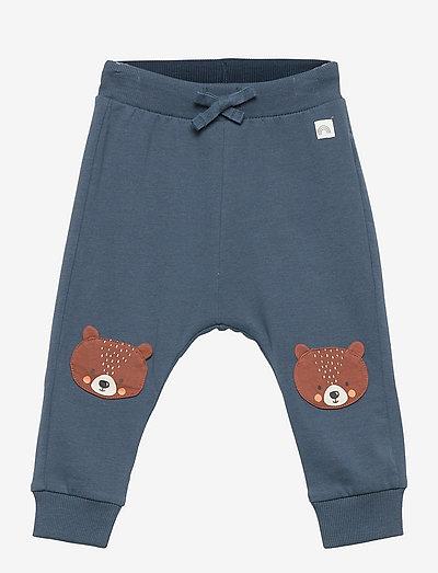 Trousers bear knee - spodnie dresowe - blue