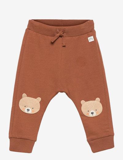 Trousers bear knee - spodnie dresowe - brown
