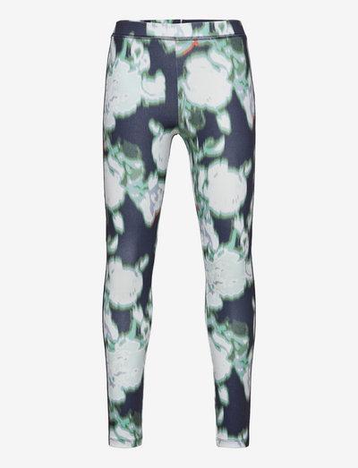 Anna mini me printed leggings - leggings - blue