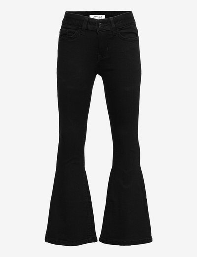 Trouser denim Freja flare incl - jeans - black