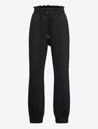 Trousers black joggers - spodnie dresowe - black