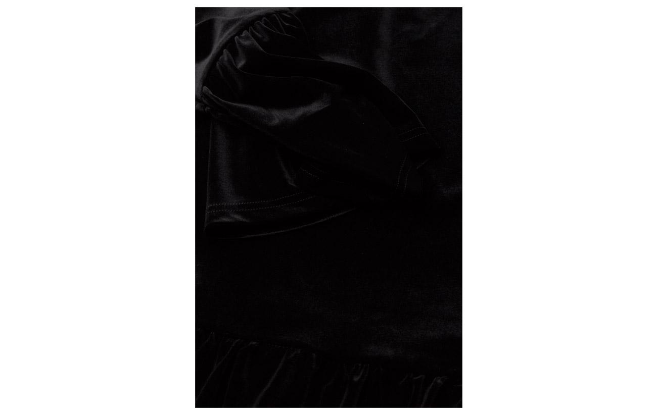 52 Oslo Of Line Elastane Acetateétate Polyester Velvet Tingeling Black 8 40 wq1cF7A