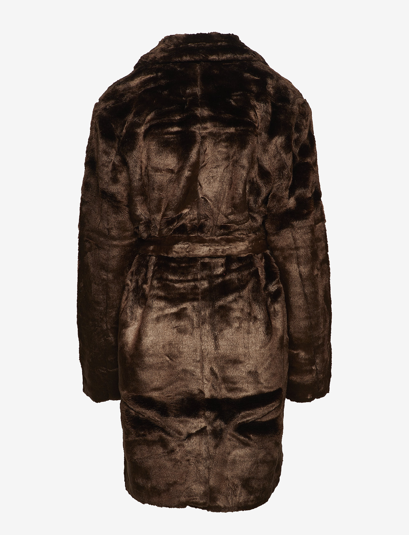 Line of Oslo - Barbara faux fur - sztuczne futro - brown - 1