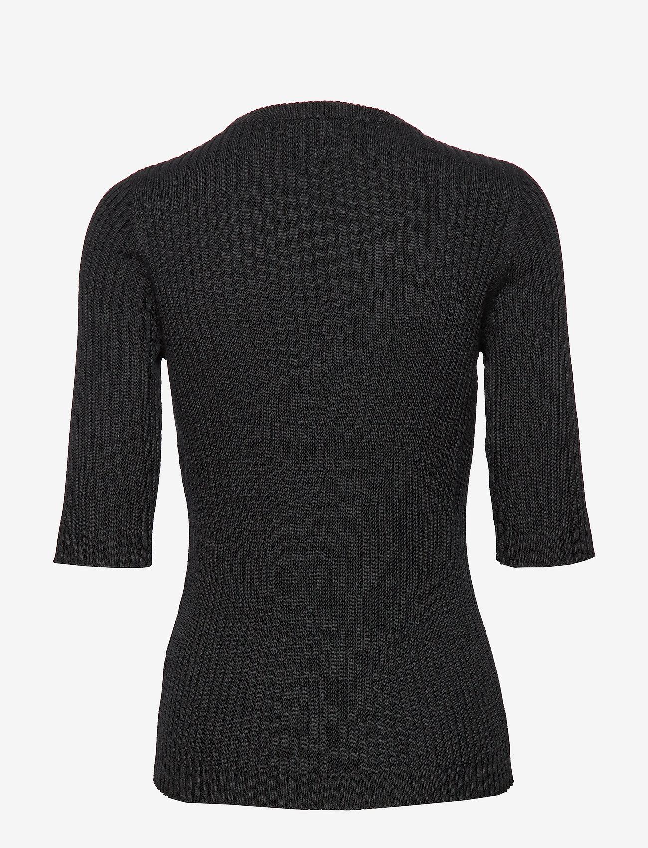 Line of Oslo Mary tencel - T-shirty i zopy BLACK - Kobiety Odzież.