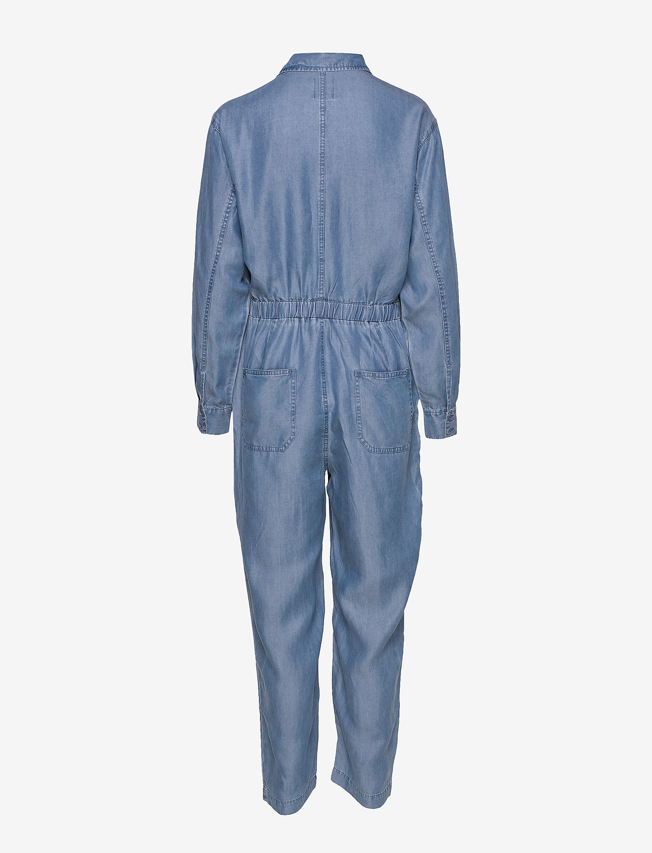 Line of Oslo - Bondi tencel - jumpsuits - blue - 1