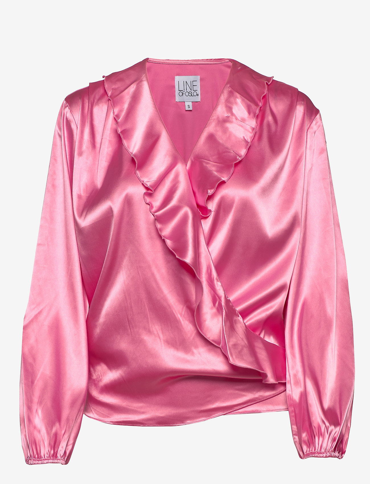 Line of Oslo Evelyn satin - Blouses & Shirts PINK
