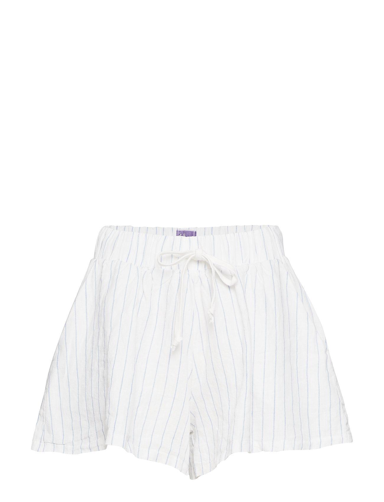 Line of Oslo New Brady linen - WHITE STRI