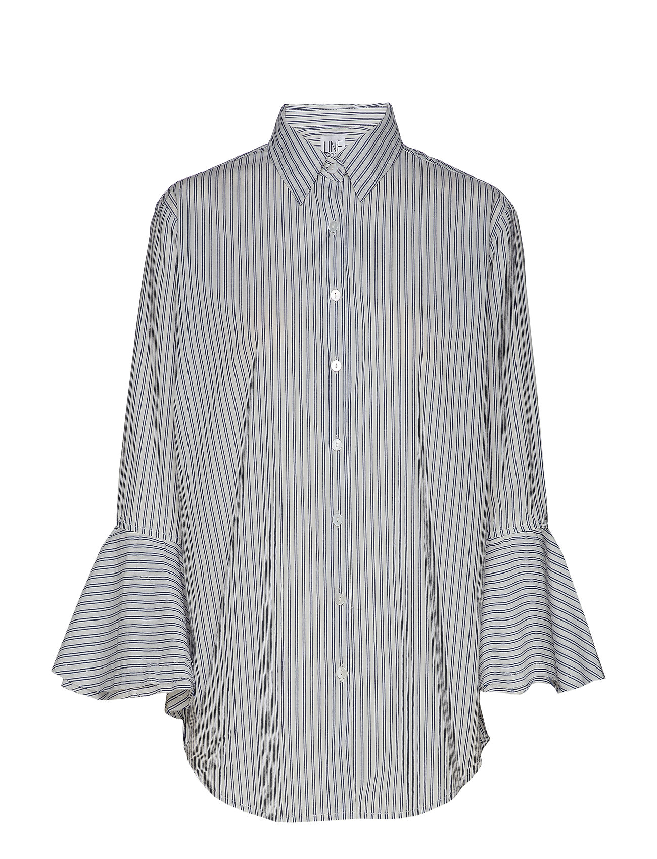 Line of Oslo Lynn stripe - WHITE