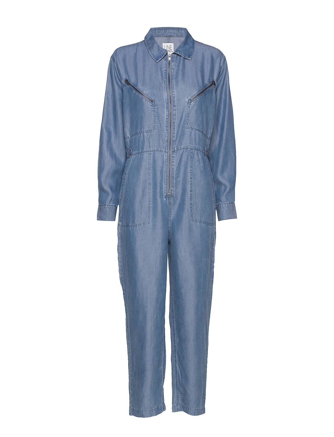 Image of Bondi Tencel Jumpsuit Blå Line Of Oslo (3326812013)