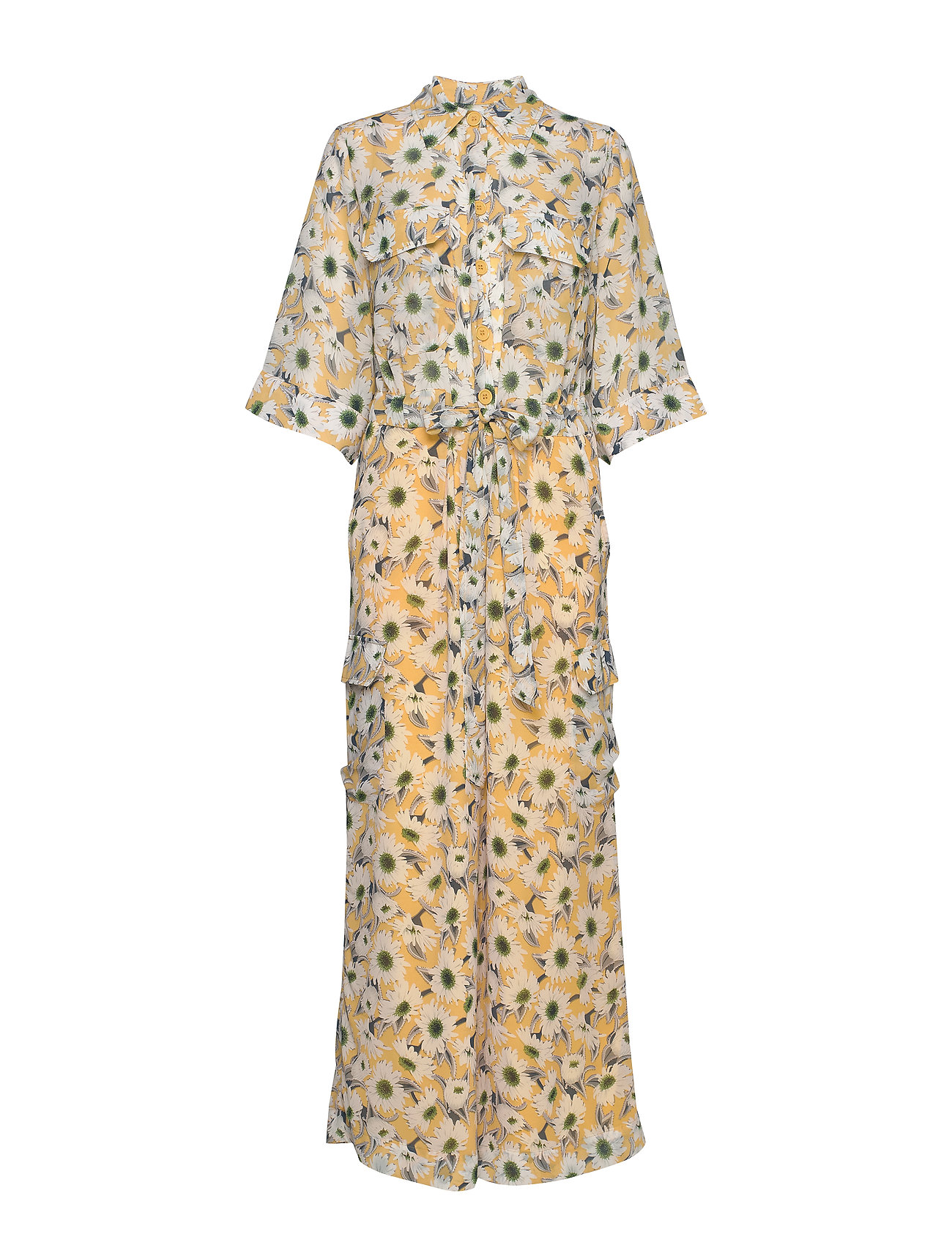 Image of Macco Flower Jumpsuit Gul Line Of Oslo (3363495623)