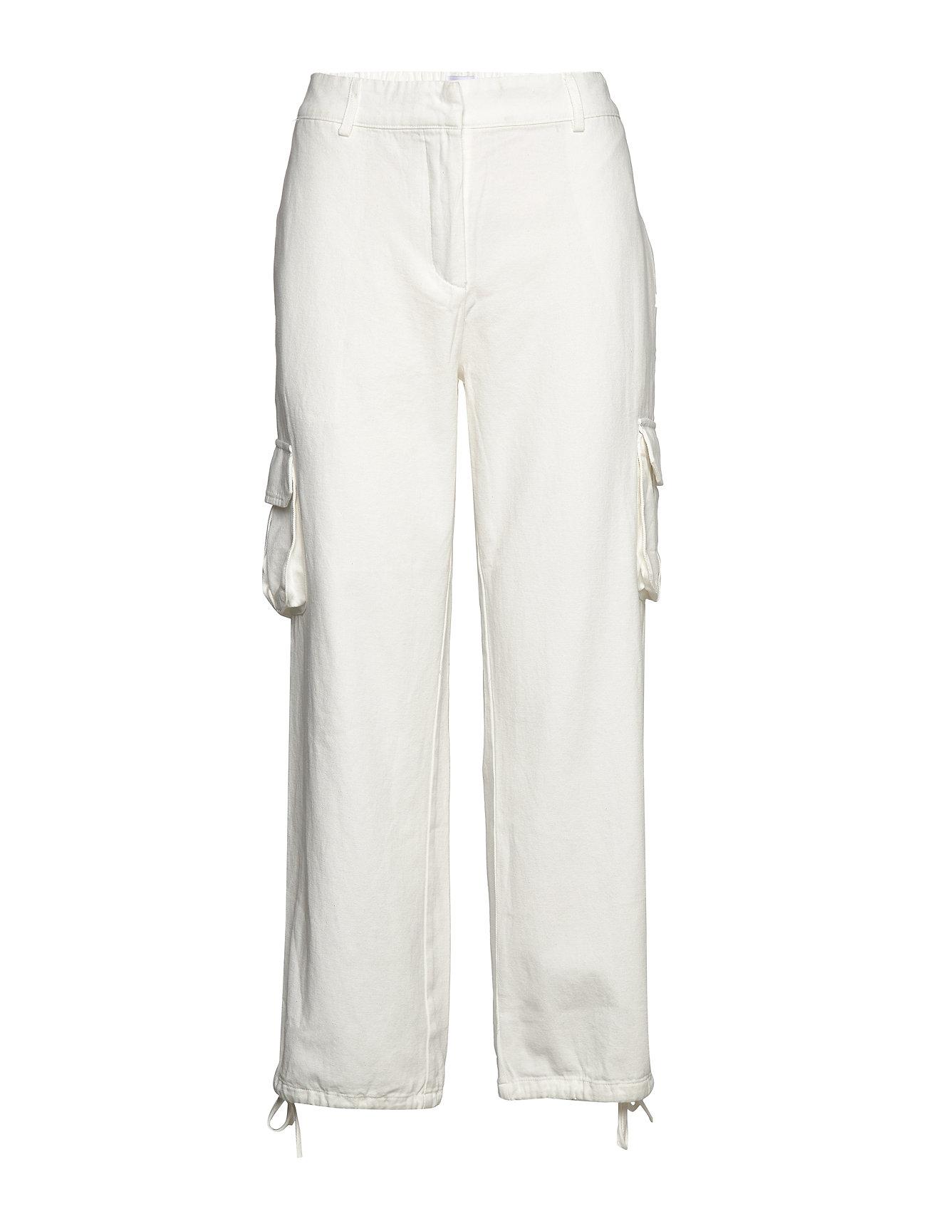 Line of Oslo Miss Cargo cotton - WHITE