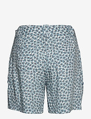 Line of Oslo - Carla print - casual shorts - blue - 1