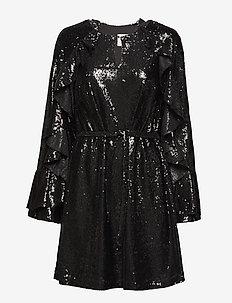 Romy sequins - korte kjoler - black